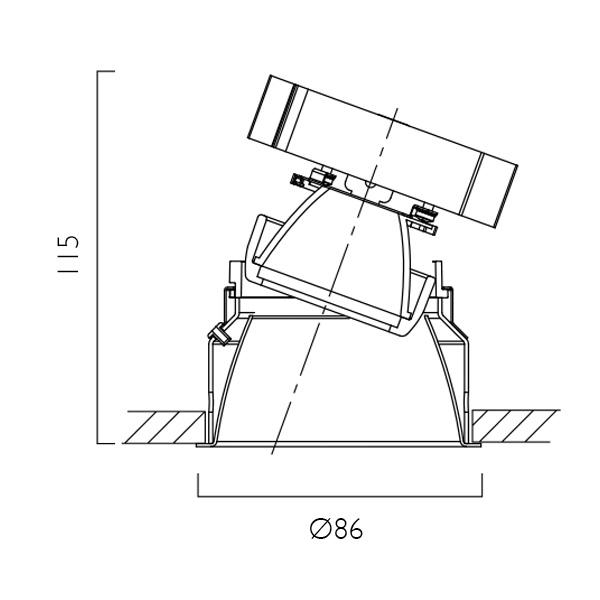 Minitrim X86 Line Drawing